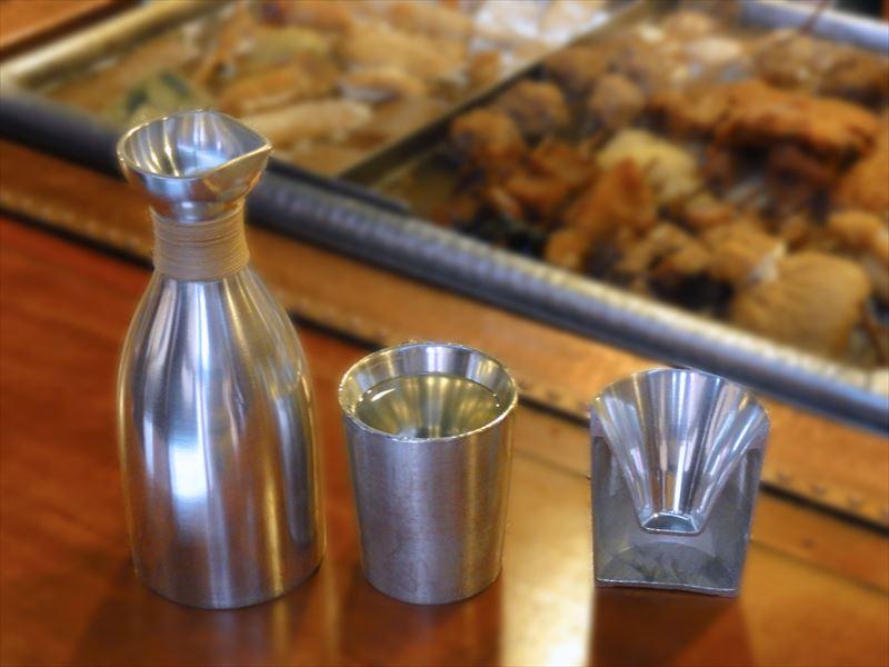 錫上燗コップとその二重構造